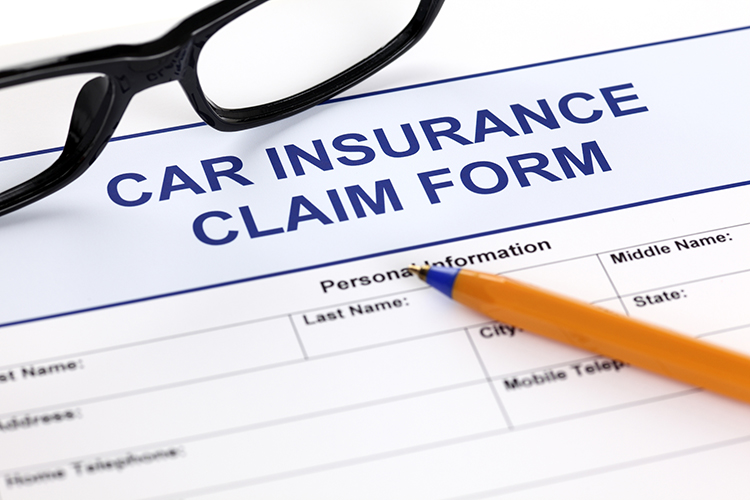 Car Theft Insurance Claim Form